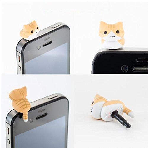 niceeshop Yellow Universal Earphone Samsung