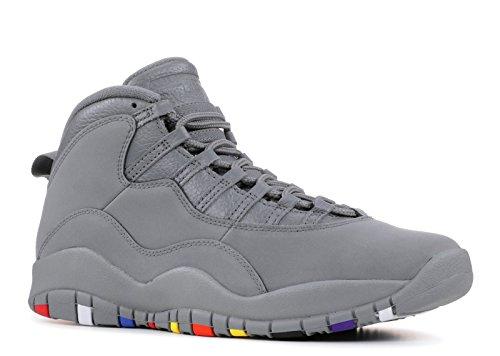 NIKE Air Jordan 10 X Cool Grey 310805-022 US Size 11