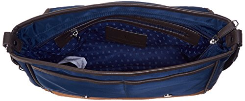 Trussardi 71B03349_148, borse Messenger Uomo, Blu, 36 cm