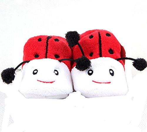 Liebenswürdig, Lady Aber Mädchen Baby Bootie, rot, schwarz und weiß (0