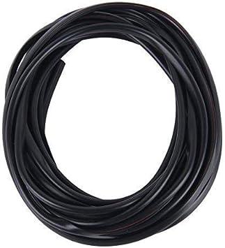 Türkantenschutz 2m In Schwarz Für Auto U Profile Elektronik