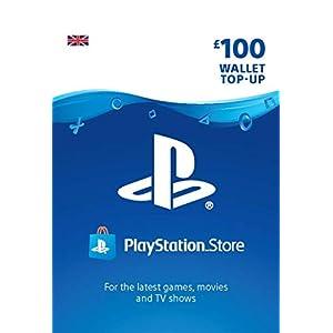 PlayStation PSN Card 100 GBP Wallet Top Up | PS5/PS4/PS3 | PSN Download Code – UK account