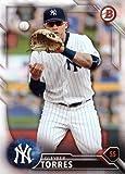 #10: 2016 Bowman Draft #BD-160 Gleyber Torres Baseball Card - His 1st New York Yankees Card!