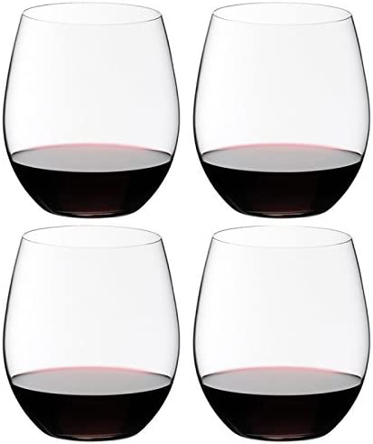 Set of 4 Riedel The O Cabernet Wine Tumbler
