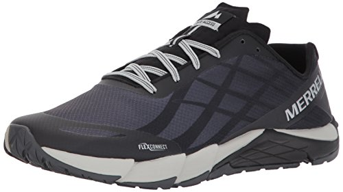 Merrell Men's Bare Access Flex Trail Runner Black/Silver marketable sale online discount very cheap discount explore cheap with mastercard alI8lRGJe