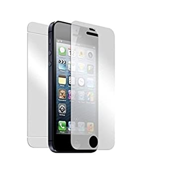 Gorilla Armour Premium Tempered Glass for Apple iPhone 5S Front and Back Screen guards