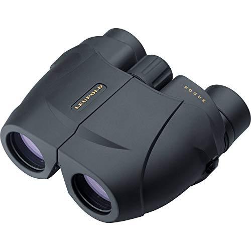 Leupold BX-1 Rogue 8x25mm Compact Binoculars, Porro Prism, Black
