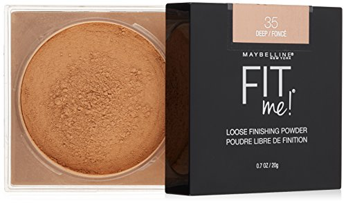 Maybelline New York Fit Me Loose Finishing Powder, Deep, 0.7 Ounce