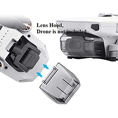 Amazetech Mavic Mini Carrying Case Bundle with Propeller Guards, Landing Gear Extension, Signal Extension, Lens Hood, Extra 4 Pair Mini Propellers & More Compatible w/DJI Mavic Mini: Camera & Photo