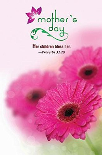 Pkg Daisy - Gerber Daisies Mother's Day Bulletin (Pkg of 50)