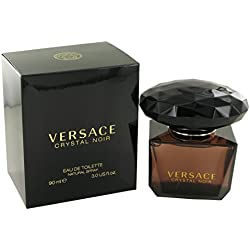 Versace Crystal Noir by Versace for Women - 3 Ounce EDT Spray