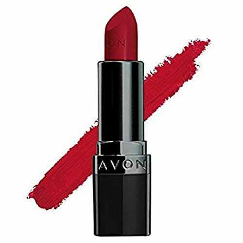 Buy Avon True Color Perfectly Matte Lipstick Red Supreme Online At