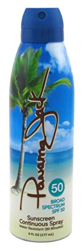 - Panama Jack Continuous Sunscreen Spray SPF 50 6 oz (Pack of 3)