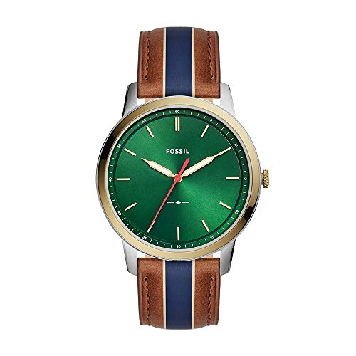 Fossil Men's Minimalist - FS5550 Green One Size (Fossil Watch With Green Face)