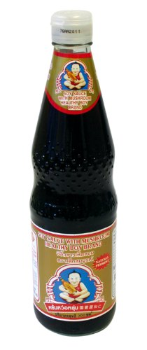 Thai Soy Sauce - Healthy Boy Brand Mushroom Soy Sauce, 23.5 Ounce