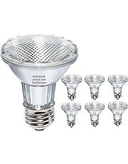 Par20 Bulbs, 120V 50W Par20 Flood Light Bulbs, E26 Medium Base Long Lasting Life High Output Reflector Flood Lights -Warm Light …