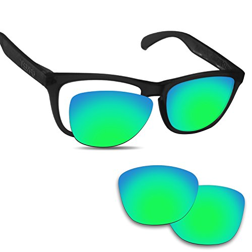 Fiskr Anti-saltwater Replacement Lenses for Oakley Frogskins Sunglasses - Various - Prizm Oakley Polarized Are Lenses