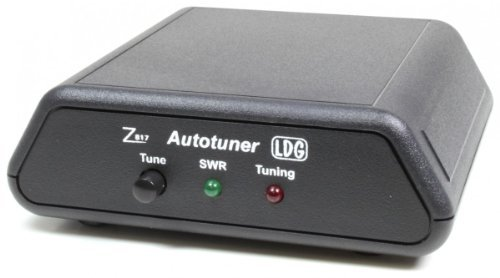 [해외]LDG 전자 Z-817 자동 안테나 튜너 1.8-54 MHz, 0.1-20 Watts, 2000 Memories, 2 Year Warranty/LDG Electronics Z-817 Automatic Antenna Tuner 1.8-54 MHz, 0.1-20 Watts, 2000 Memories, 2 Year Warranty