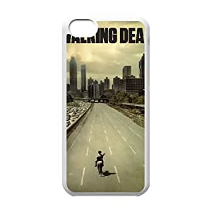 The Walking Dead 003 iPhone 5c Cell Phone Case White TPU Phone Case RV_595254