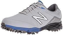 New Balance Men's Nbg2004 Golf Shoe, Greyblue, 10.5 D Us
