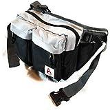 Loyofun Unisex Brown Genuine Leather Waist Bag...