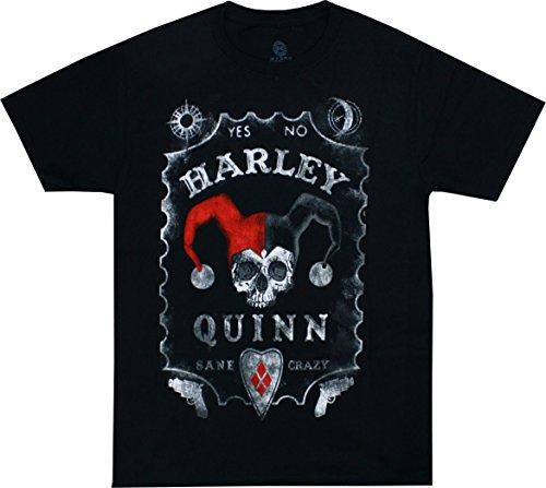 Harley Quinn Board Men's Black Shirt