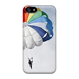 BestSellerWen Case For Sam Sung Note 4 Cover With Nice Woman Skydiving Appearance