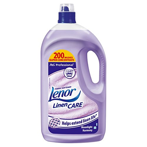 ( 4ltr Pack ) Lenor Professional Fabric Conditioner Moonlight Harmony 4L
