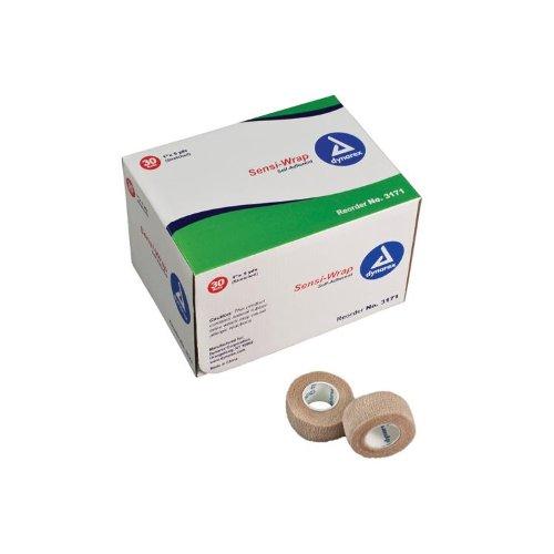 Dynarex Corporation (n) Sensi-Wrap Self Adherent Bndg 4 X 5 Yds Tan 18/Cs