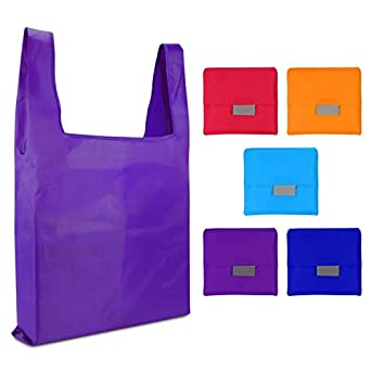 Amazon.com: Reutilizable lavable Durable plegable bolsa ...