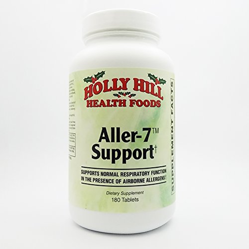 Holly Hill Health Foods, Aller-7 Support, 180 Tablets