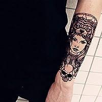 Tatuaje calcomanía brazo hombres y mujeres impermeable simulación ...