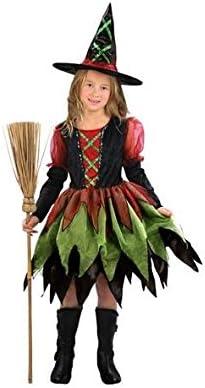 Disfraz de bruja de colores para niña: Amazon.es: Juguetes y juegos
