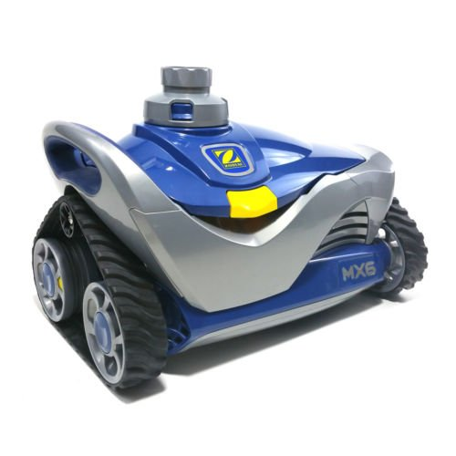 Big Save! Zodiac MX6 In-Ground Suction Side Pool Cleaner, Blue/Gray