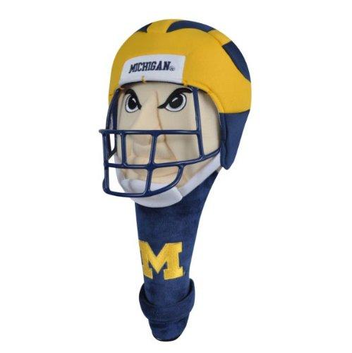 NCAA Michigan Wolverines Mascot Headcover, Outdoor Stuffs