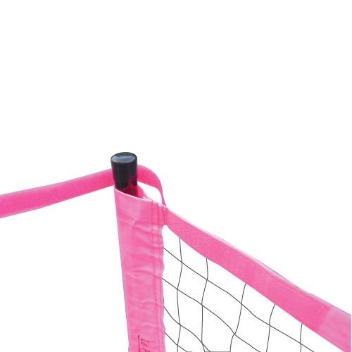 Le Petit Tennis 18-foot Portable Tennis Pink Net (Official Size for Usta Junior Under 10 Competition)