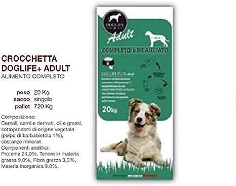 DOGLIFE+ Croqueta para Adultos 20 kg de proteína alimenticia ...