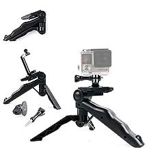 Support 2 en 1 poignée ergonomique / trépied pour PHONECT, Gizcam, Elephone ELE Explorer, Eken H9 one + adaptateur - DURAGADGET