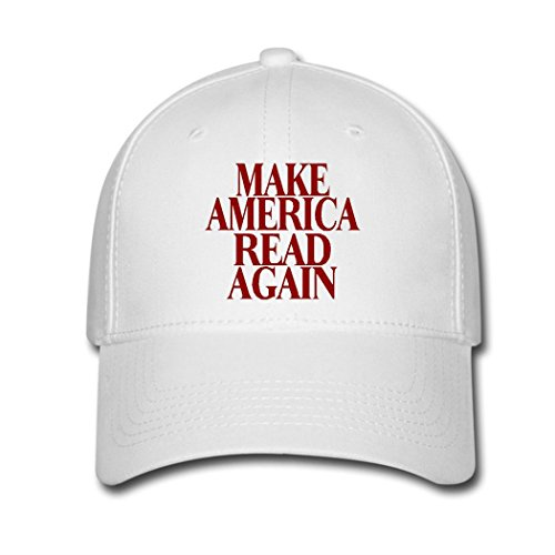 OBB OB Snapback Hat Make America Read Again Logo Unisex Adjustable Baseball Cap