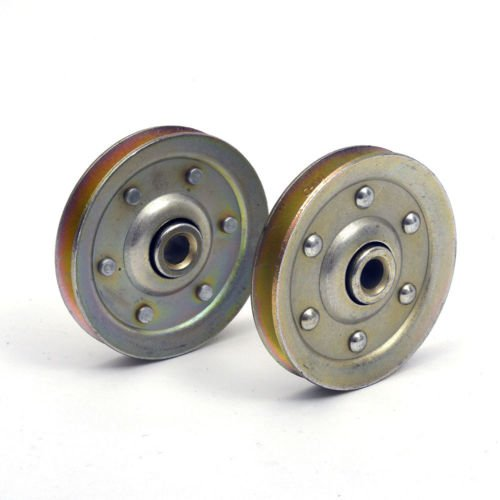 Garage Door 3 Inch Heavy Duty Sheave Pulley  200 Lb Load   2 Pack