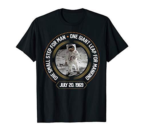 Apollo 11 50th Anniversary Moon Landing 1969-2019 T-Shirt
