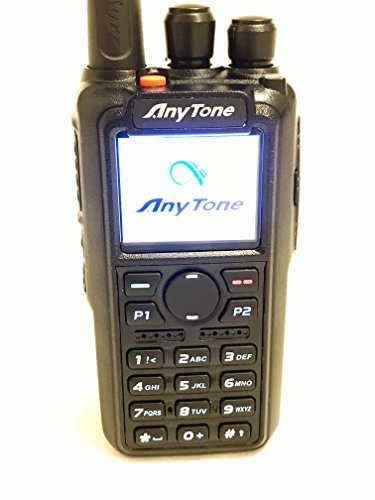 AnyTone AT-D868UV GPS Version II Upgraded 3100mAh battery Dual Band DMR/Analog 144 & 430 MHz Radio US Seller by AnyTone (Image #1)