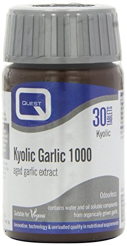 ((12 PACK) - Quest Kyolic Premium Garlic 1000Mg Tablets | 30s | 12 PACK - SUPER SAVER - SAVE)