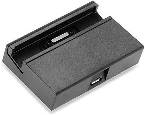 TOOGOO(R) Soporte para la estacion de carga del muelle para el Sony Xperia Z1 mesa Negro: Amazon.es: Electrónica