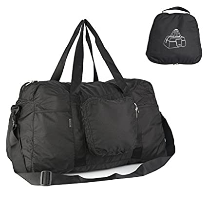 Amazon.com  Oleader 50L Foldable Travel Duffel Bag Lightweight Sports Duffel  for Luggage Gym  Sports   Outdoors 191923c254515