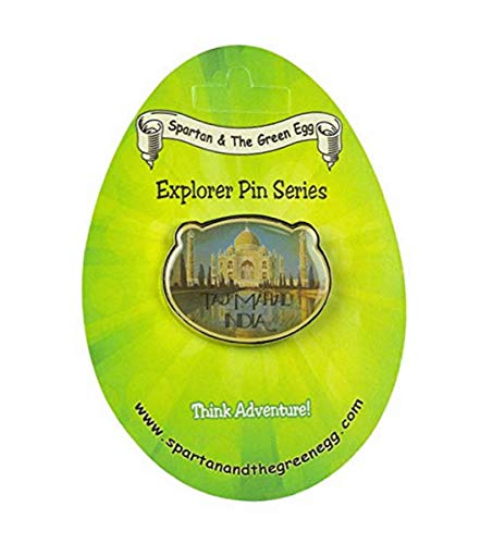 Spartan and The Green Egg Explorer Pin Series: Taj Mahal, India (1)