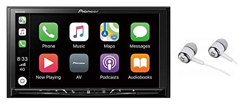 Pioneer 7″ WVGA Display, Apple CarPlay, Android Auto, Built-in Bluetooth, AppRadio Mode, Pandora, Spotify, MIXTRAX, USB/AUX Digital Multimedia Video Receiver