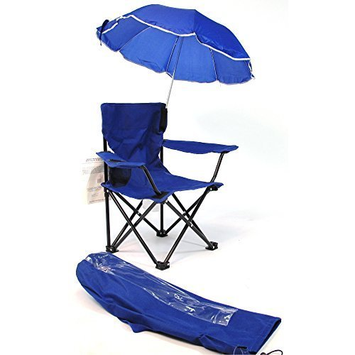 Redmon For Kids Beach Baby Umbrella Camp Chair, Royal Blue