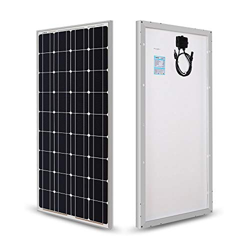 Renogy 100 Watts 12 Volts Monocrystalline Solar Panel (Renewed)