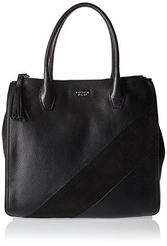 Tosca Blu - Natural Beauty, Bolsos totes Mujer, Schwarz (Black), 16x31x34 cm (B x H T)